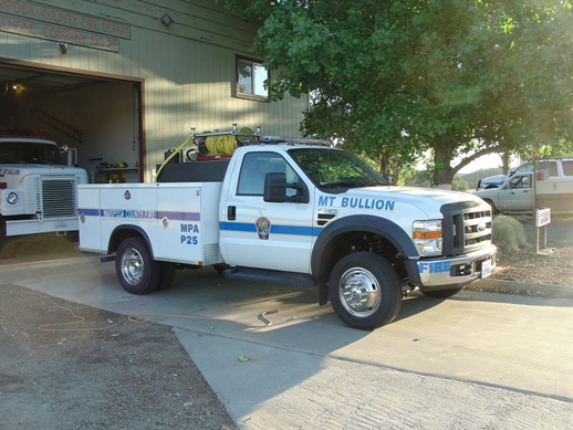 Mt Bullion Patrol Truck