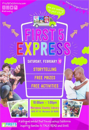 First 5 Express flyer